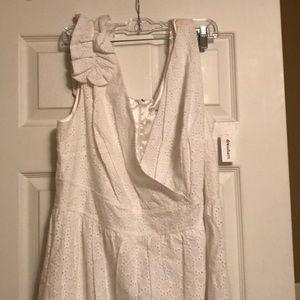 Dress Barn eyelet dress